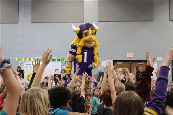 Viktor the Viking Visits LCWM