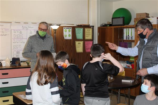 Lake Crystal Lions Club Gives Dictionaries to the LCWM 3rd Grade Students