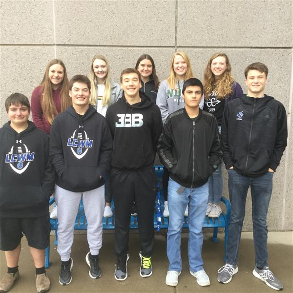 Sophomore Group Attends Leadership Training